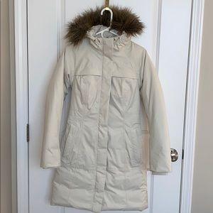 North Face down coat, XS